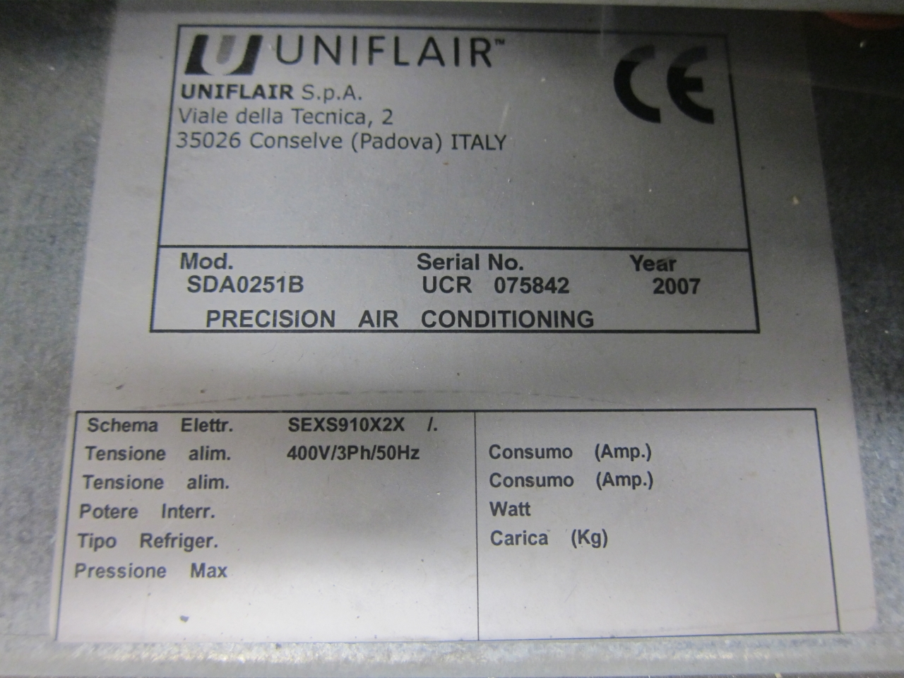 Precision Air Conditioning Hos Bv